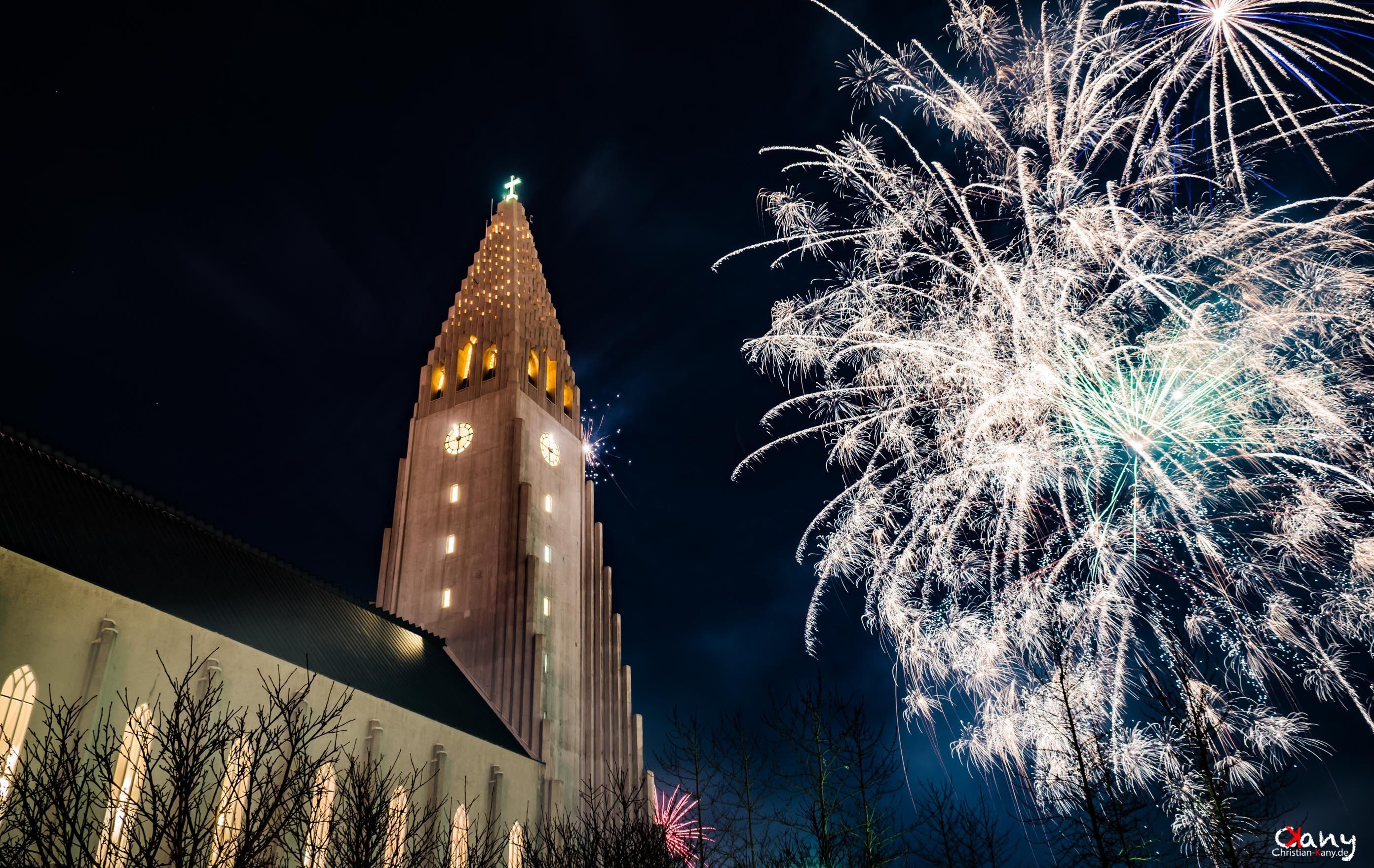 Reykjavik New Year 2018